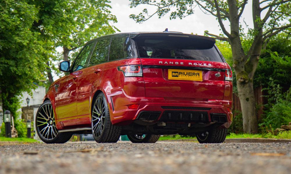 Range Rover Sport RV2 Body Kit Rear End