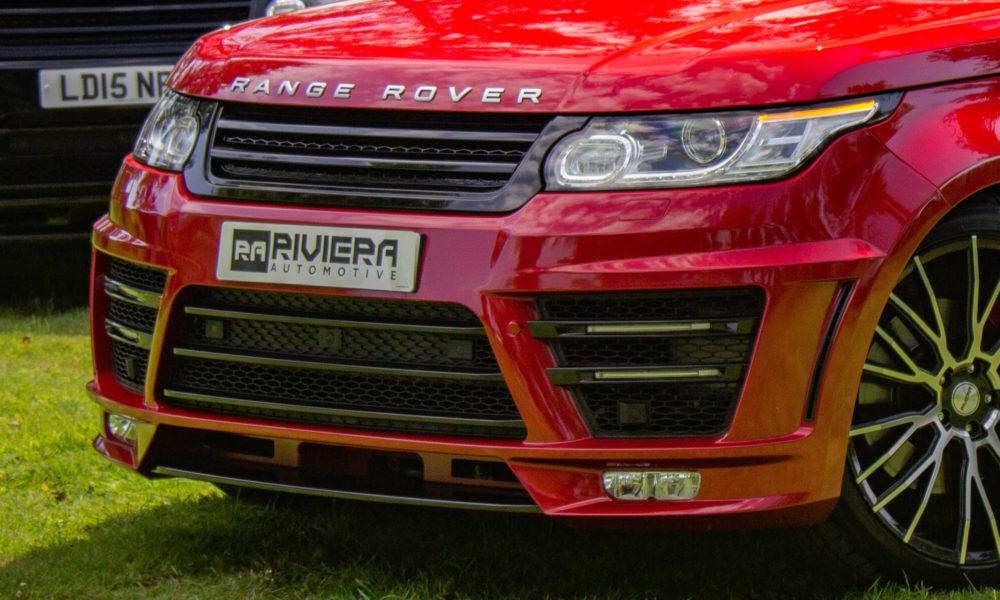 Range Rover Sport Red Detail