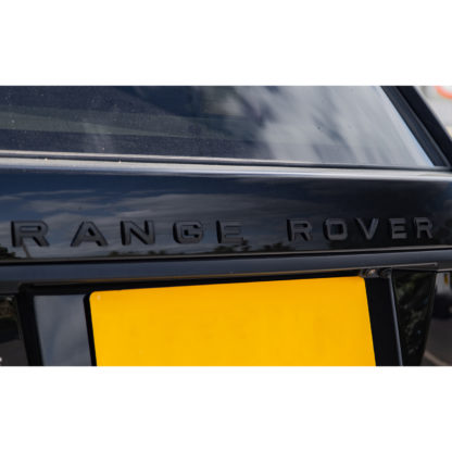 Range Rover Lettering