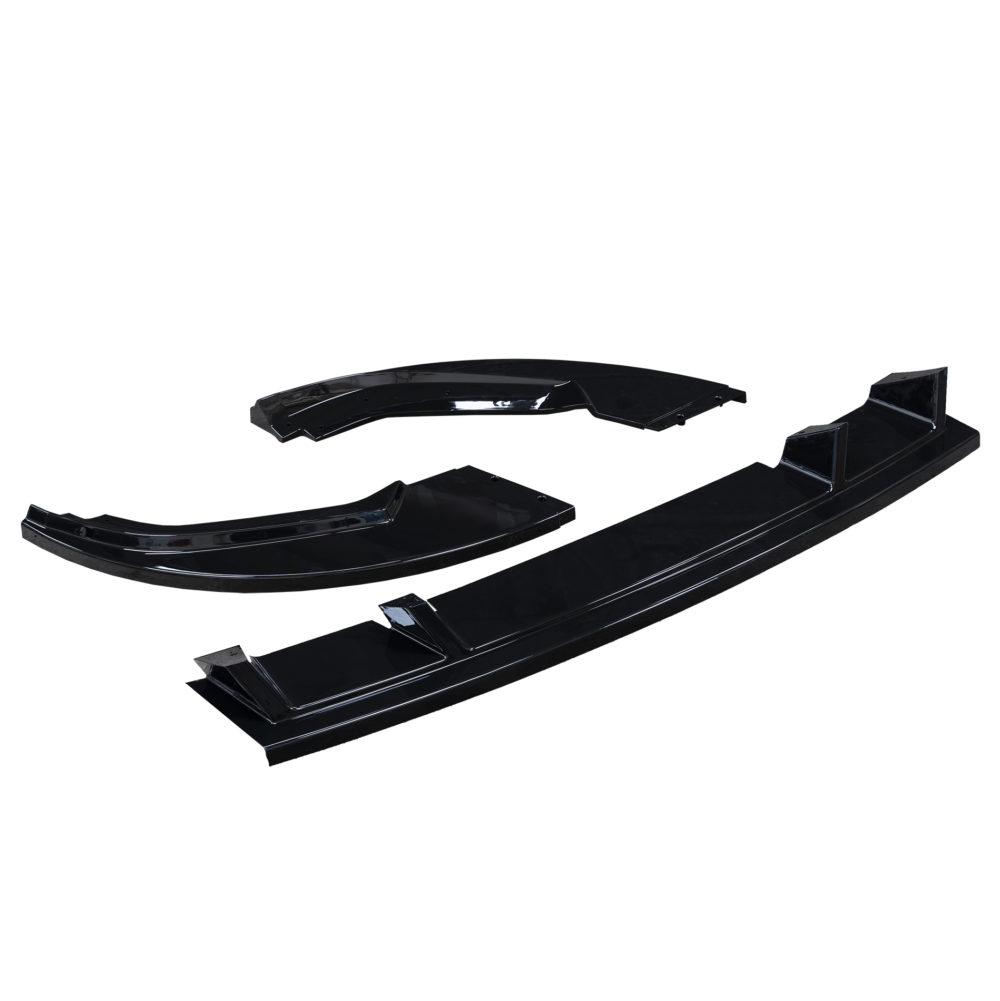 Volkswagen Transporter T6 1 Gloss Black Front Splitter